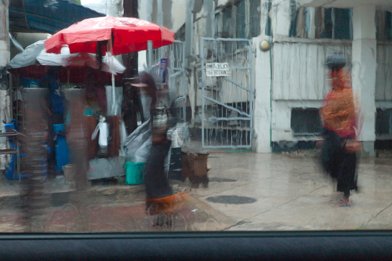Heavy rains mark the end of our trip to Zanzibar. I snapped this picture out the window of our taxi while enroute to Dar es Salaam Airport. <br /> <br /> Next stop: Arusha - our departure point for the Serengeti.