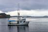 Boat in Sitka Harbor