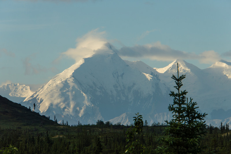 Mt Brooks and Mt Silverthrone