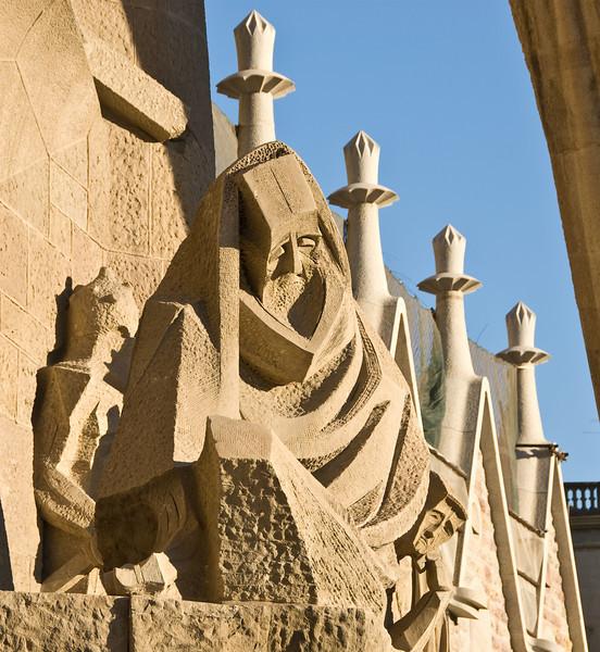 Sagrada Família, rear relief. (Dec 12, 2007, 03:58pm)