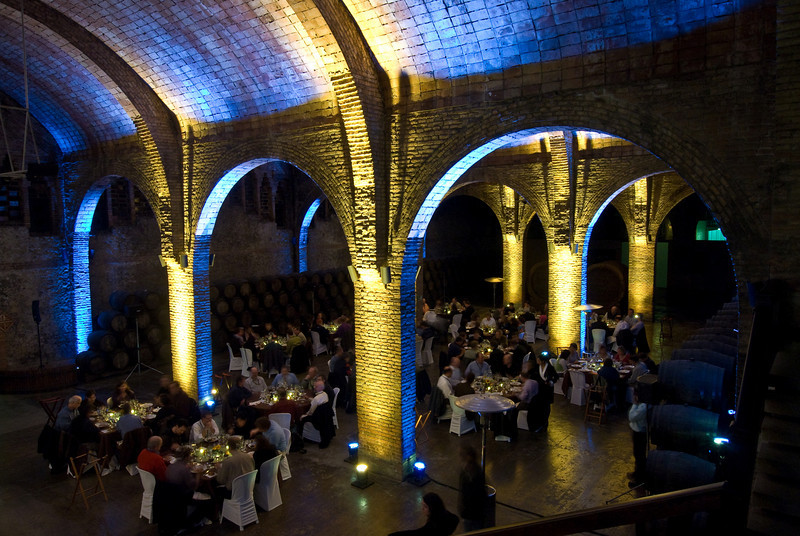 Dinner scene at the Codorníu Winery. (Dec 13, 2007, 08:16pm)