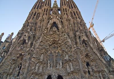 Sagrada Família, Nativity façade. (Dec 12, 2007, 02:55pm)