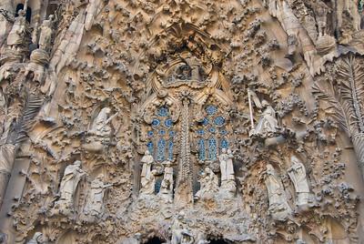 Sagrada Família, Nativity façade -- close-up of the nativity scene. (Dec 12, 2007, 02:52pm)