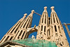 Towers of the Sagrada Família.  You can see the construction artifacts in the foreground. (Dec 12, 2007, 03:51pm)