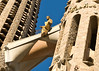Statue above the Sagrada Família. (Dec 12, 2007, 03:50pm)
