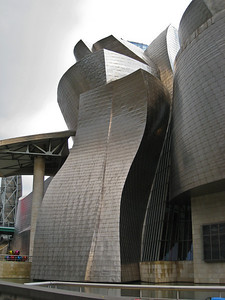 Close up of the Guggenheim, Bilbao exterior. (Dec 10, 2007, 08:28am)