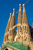 Sagrada Família towers. (Dec 12, 2007, 04:24pm)
