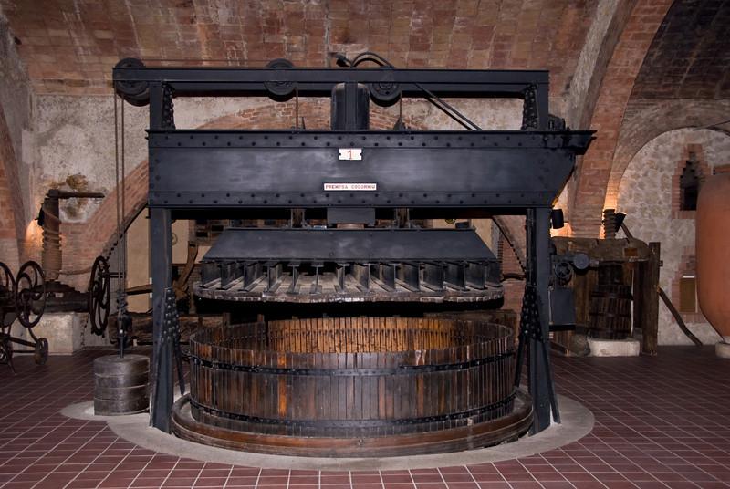 Wine making press on display at the Codorníu Winery. (Dec 13, 2007, 05:45pm)