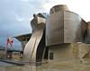Guggenheim museum Bilbao, seen from the river. (Dec 10, 2007, 08:23am)