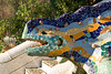 Close-up of the dragon's head at the entrance to Park Güell in Barcelona. (Dec 14, 2007, 10:37am)