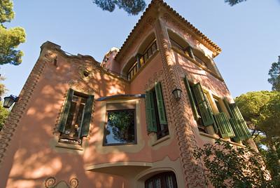 Gaudi's house in Park Güell. (Dec 14, 2007, 10:11am)