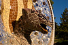 Close-up of the lizard-head at the entrance of Park Güell. (Dec 14, 2007, 10:39am)
