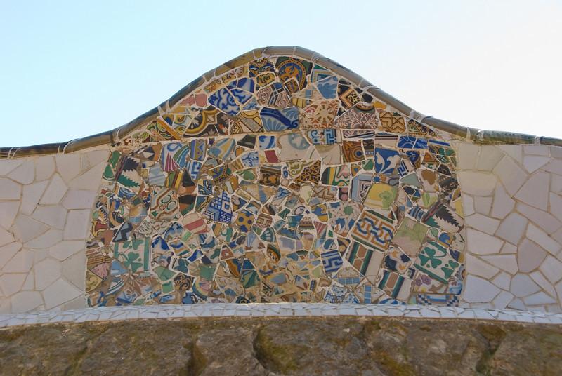 Mosaic in Park Güell. (Dec 14, 2007, 10:47am)