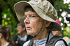 Judy<br /> A picture of Judy watching the humming birds in Monteverde.