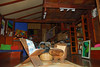 <b>The TV Room from outside</b>   (Mar 25, 2006, 05:30pm)  There is also a common room at the Cocoa Cottages with a few chairs, padded benches and (of all things) a drum set.