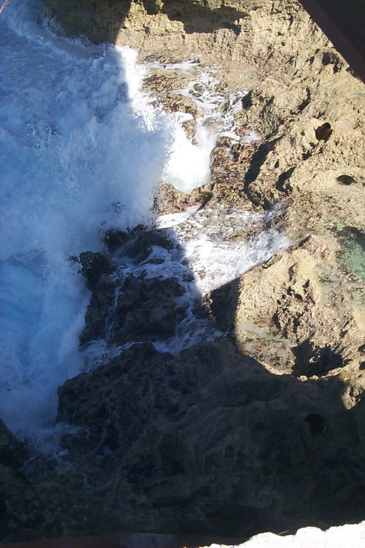 <b>More Wave Action below Bridge</b>   (Apr 16, 2000, 04:00pm)