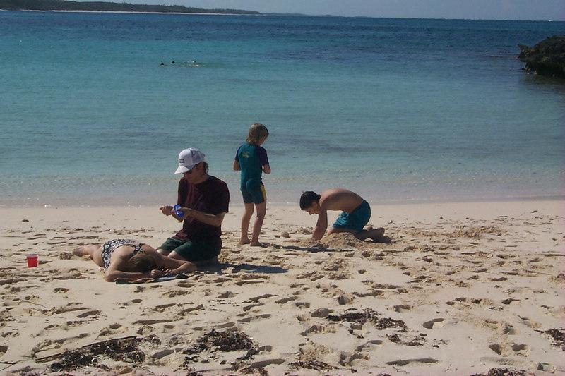 <b>Settling down at Twin Beach</b>   (Apr 17, 2000, 04:13pm)