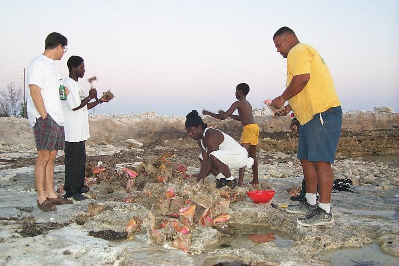<b>Preparing Conch for Dinner</b>   (Apr 20, 2000, 07:33pm)