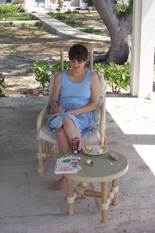 <b>Daphne Writing in Journal</b>   (Apr 20, 2000, 11:15am)