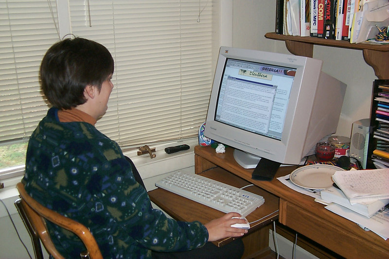 <b>Daphne Works on This Website</b>   (Apr 22, 2000, 12:12pm)