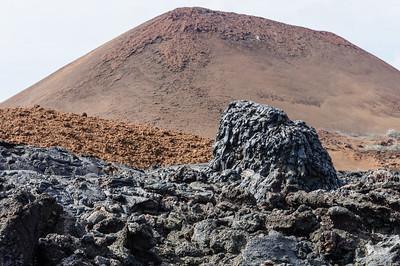 Hornito in Santiago Island Lava Flow