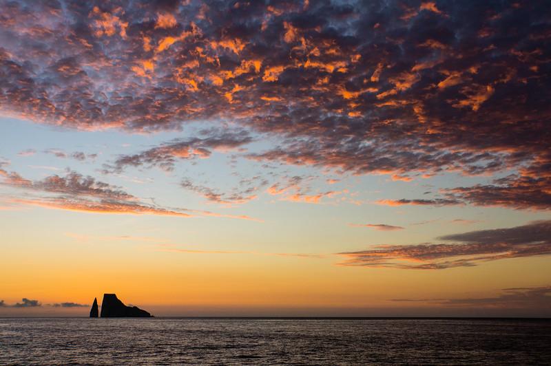 Sunset at Kicker Rock