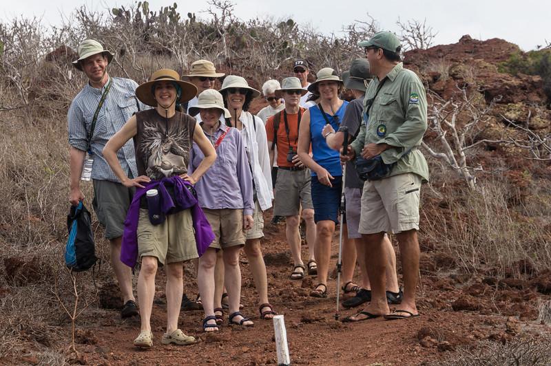 Our Group on Rábida Island
