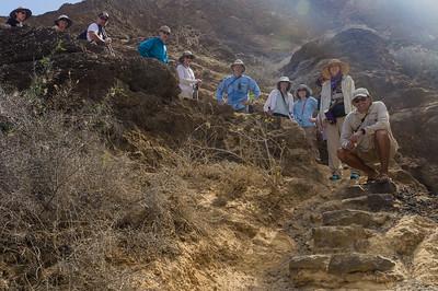 Our group at Punta Pitt