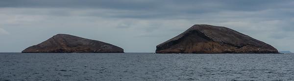 Islands off of Santiago Island