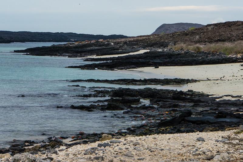 Beach on Sombrero Chino Island