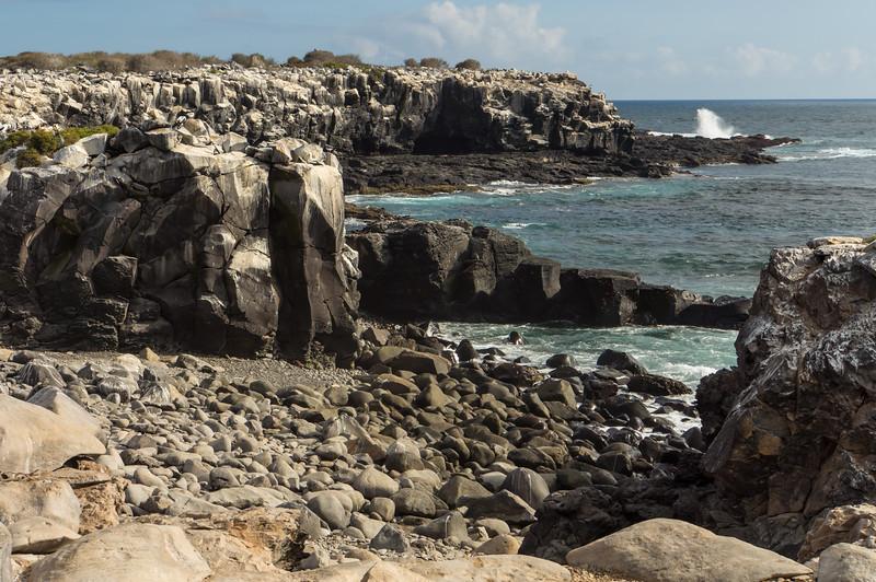 Coast of Española Island