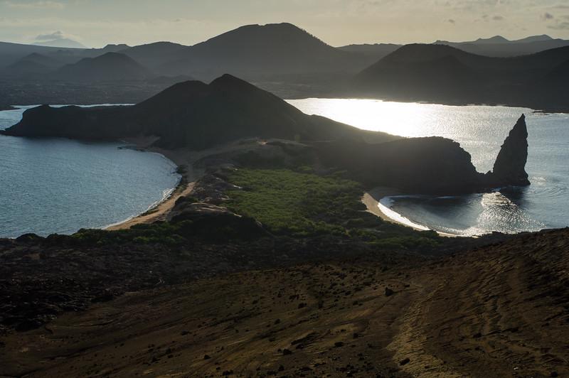 Bartolomé Island  and Pinnacle Rock