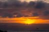 Sunrise near Santiago Island