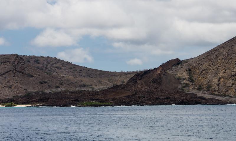 Lava Flow on Santiago Island