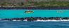 Kayaking at Santa Fé Island
