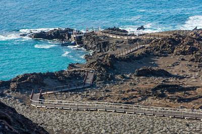 Boardwalk on Bartolomé Island