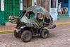 A unique vehicle