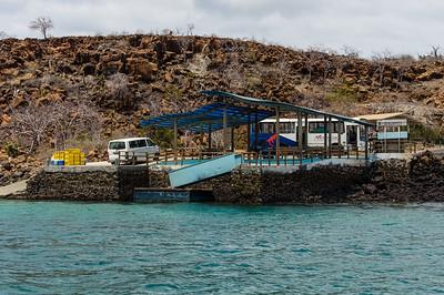 Baltra Island dock
