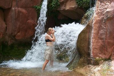 Jo Ann at Clear Creek Falls   (Jun 01, 1999, 01:51pm)