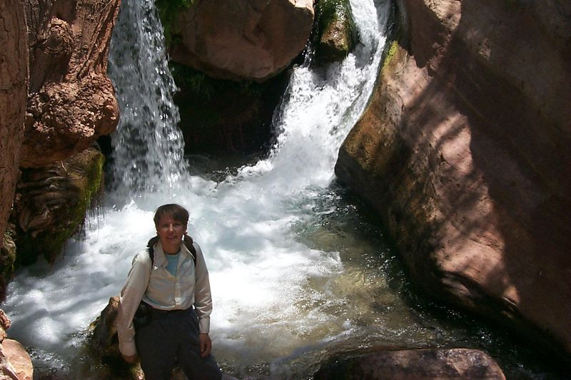 <b>Maddy at Waterfall</b>   (Jun 06, 1999, 12:37pm)