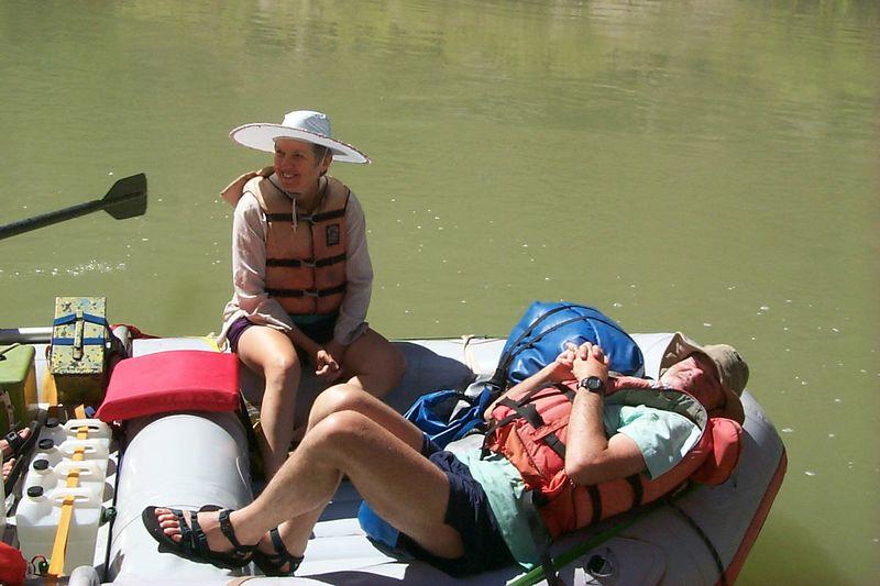 <b>Judy and Dave on Raft</b>   (Jun 07, 1999, 11:05am)