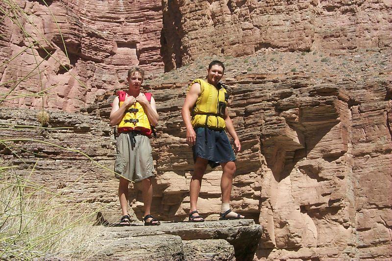 <b>Ben and Alex on Ledge</b>   (Jun 08, 1999, 10:55am)