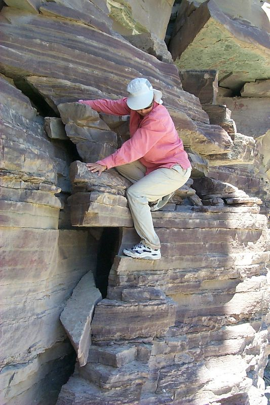 <b>Daphne Climbing down</b>   (Jun 09, 1999, 01:48pm)