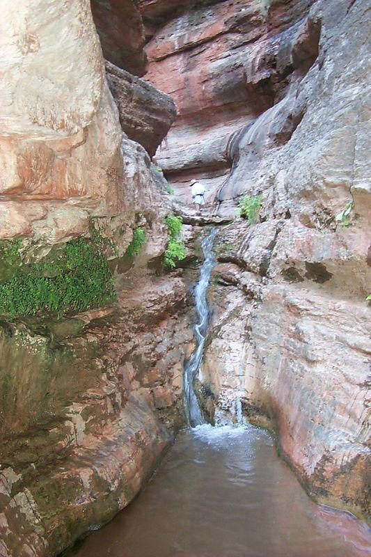 <b>Saddle Waterfall</b>   (May 29, 1999, 09:54am)