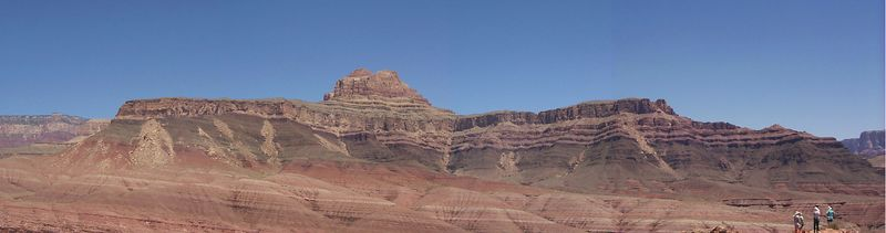 <b>Great Unconformity Panorama</b>   (May 31, 1999, 12:12pm)