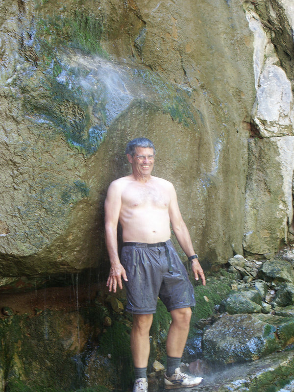 <b>Ben Harding under the waterfall</b>   (Jun 27, 2003, 02:51pm)