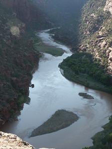 River north of Limestone at dusk   (Jun 27, 2003, 06:40pm)