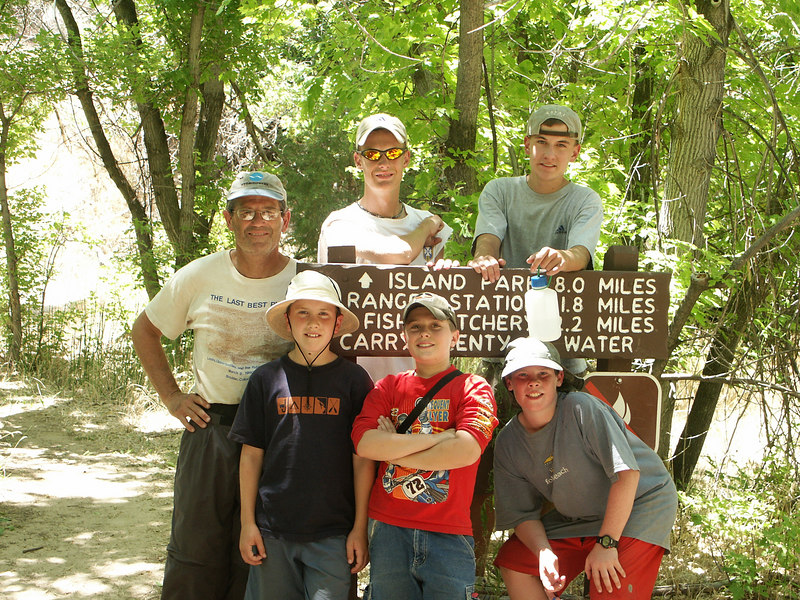 <b>Hike to waterfall and pictographs</b>   (Jun 28, 2003, 02:27pm)