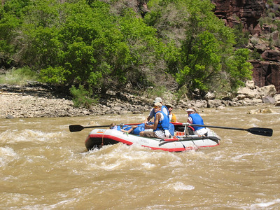 Damon in rapids in Whirlpool Canyon   (Jun 28, 2003, 12:02pm)