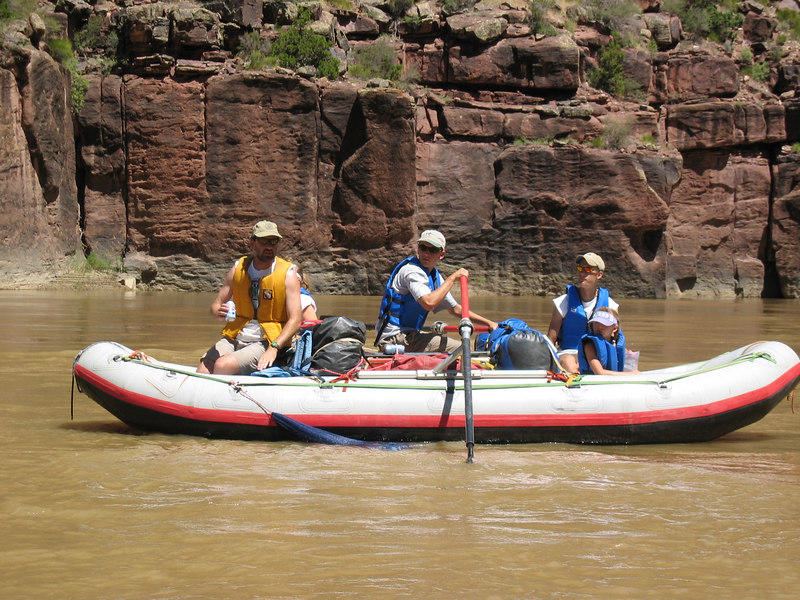 <b>Garrett rows the Clark family raft</b>   (Jun 28, 2003, 12:01pm)